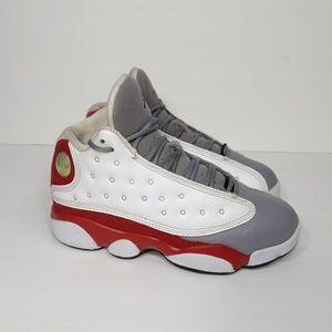 Jordan Shoes - Nike Air Jordan 13 Retro Grey Toe Sz 1Y